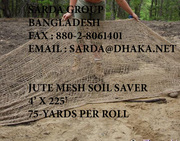 BURLAP POTATO BAGS & JUTE SOIL EROSION CONTROL CLOTH