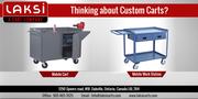 Buy Online Custom carts From Laksi Carts Inc