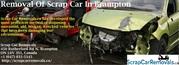 Removal Of Scrap Car In Brampton